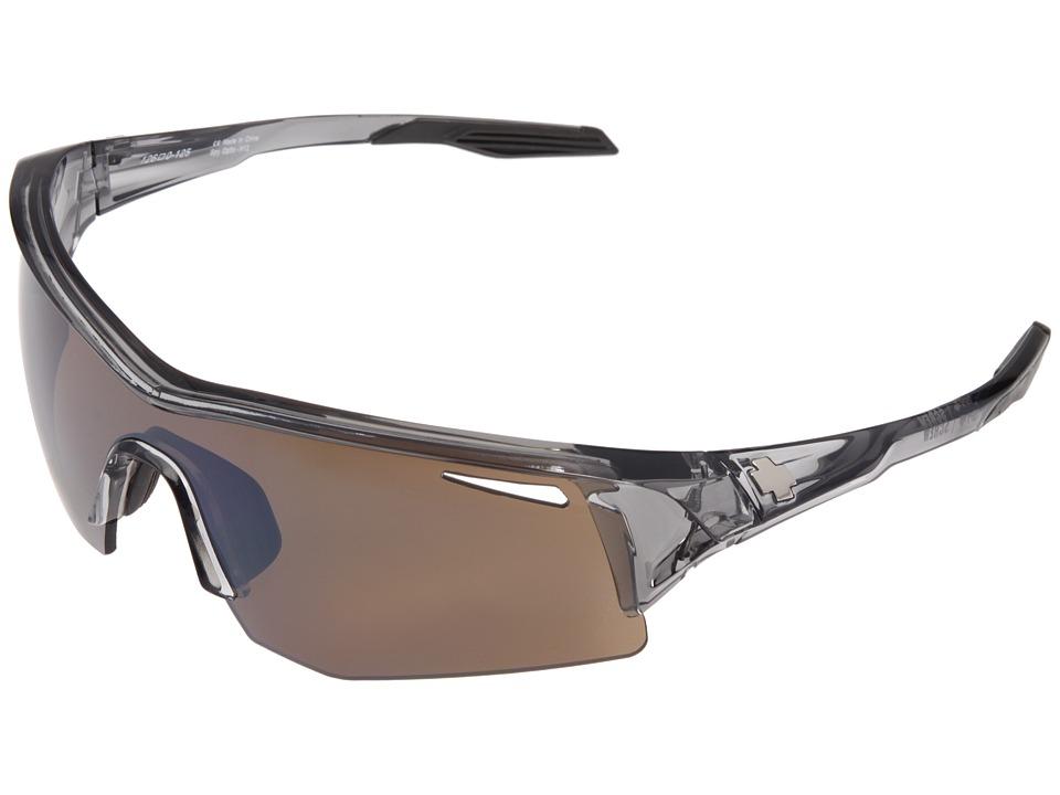 Spy Optic - Screw (Clear Smoke/Bronze w/ Black Mirror (Rose)) Fashion Sunglasses