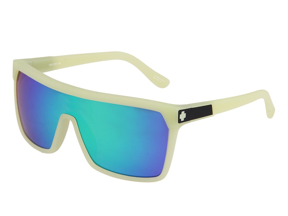 Spy Optic - Flynn (Bro in the Dark/Grey w/Green Spectra) Sport Sunglasses