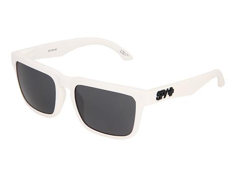Spy Optic - Helm (Matte White/Grey) Fashion Sunglasses