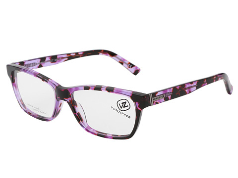 VonZipper - Hot Mess Reader (Purple) Athletic Performance Sport Sunglasses