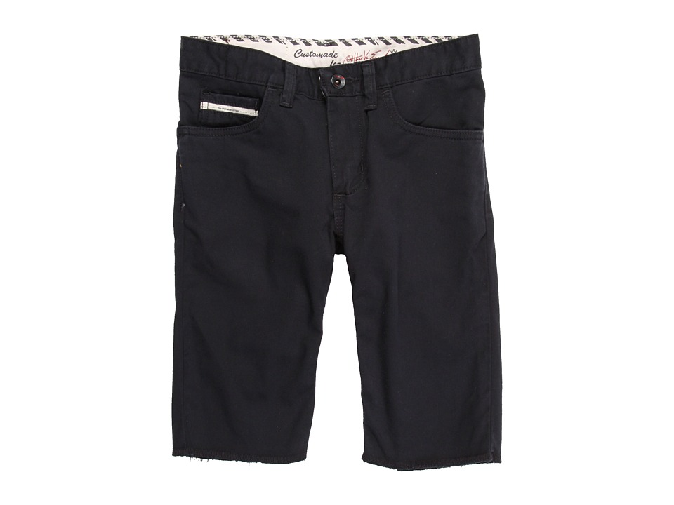 Vans Kids - AV Covina Short (Big Kids) (Black) Boy