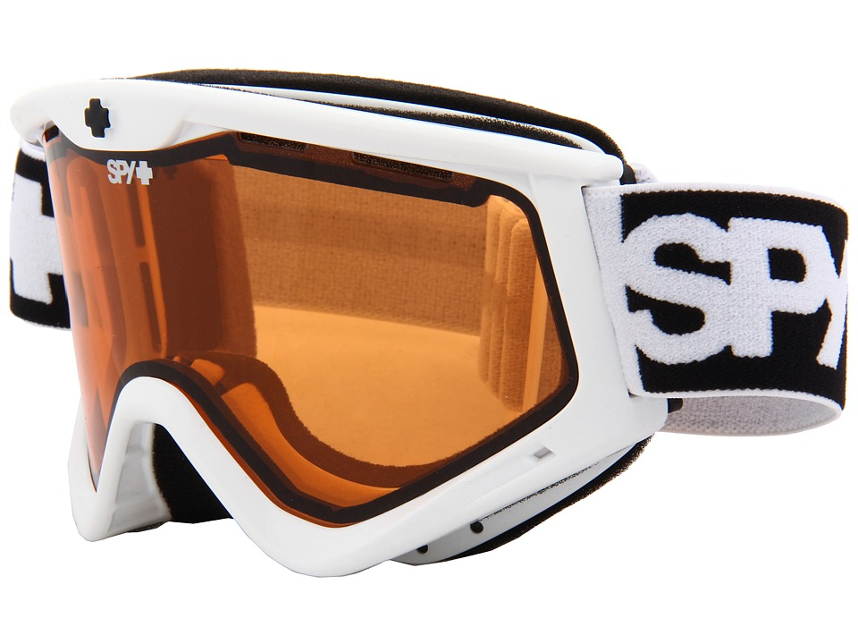 Spy Optic - Targa 3 (White- Persimmon) Snow Goggles
