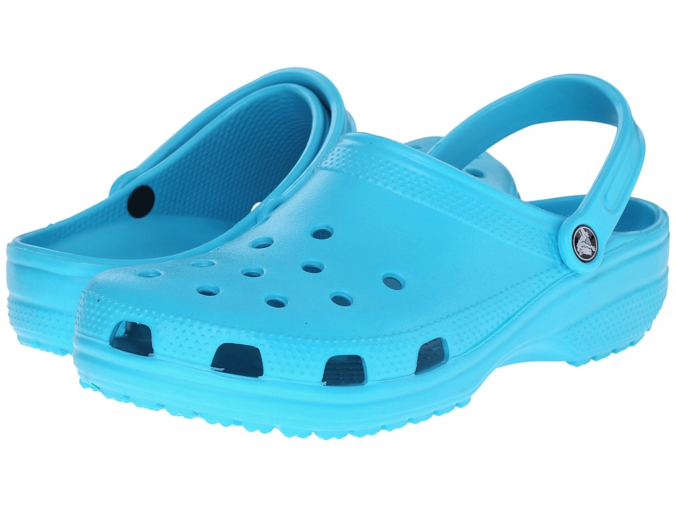 Crocs - Classic Clog (Electric Blue) Clog Shoes
