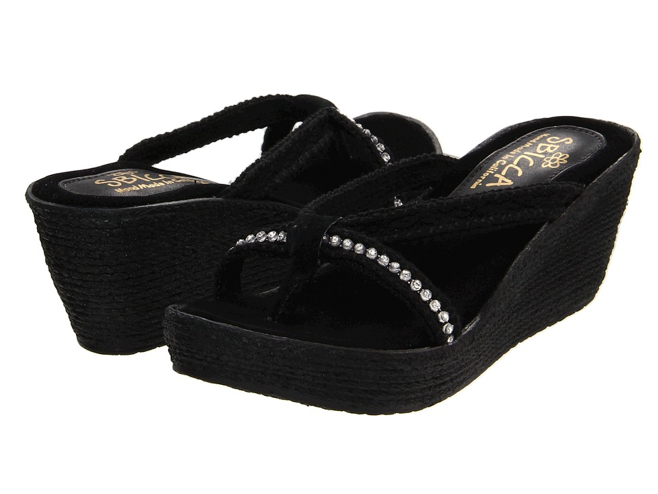 Sbicca - Luxury (Black) Women's Sandals