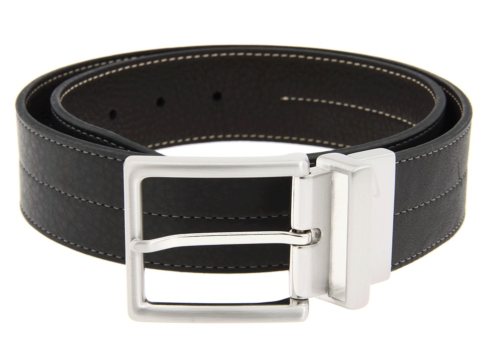 Nike - Center Stitch Reversible (Black/Brown) Men's Belts