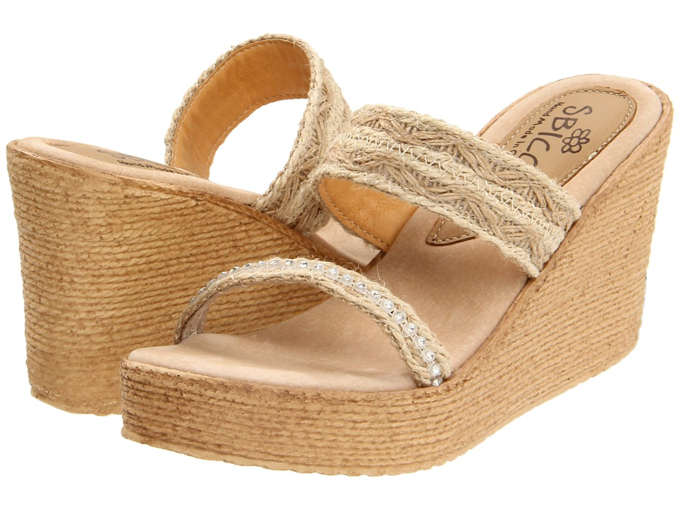Sbicca - Vixen (Natural) Women's Wedge Shoes