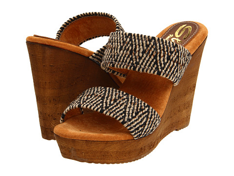 Sbicca - Tristan (Black Multi) Women's Wedge Shoes