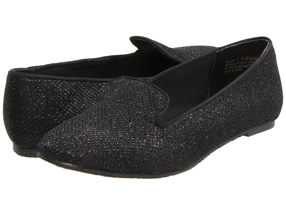 Chinese Laundry - Glitter (Black) Women's Flat Shoes
