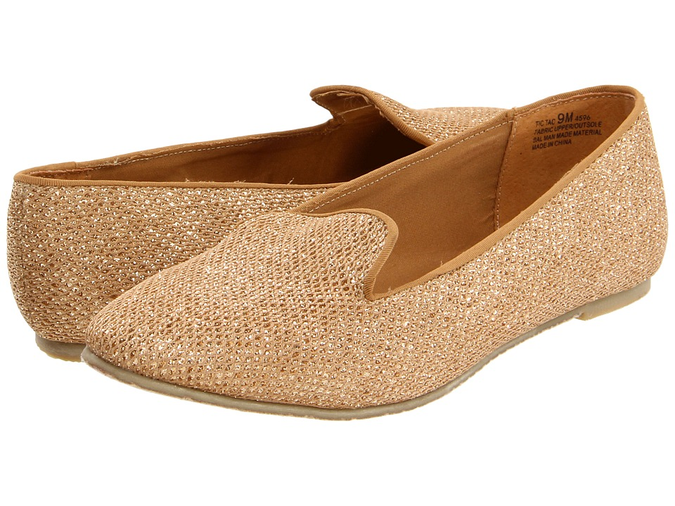 Chinese Laundry - Glitter (Gold) Women's Flat Shoes