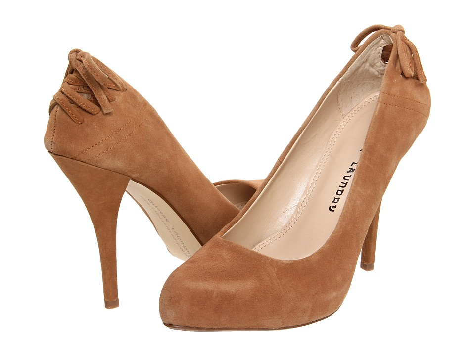 Chinese Laundry - Don't Stop (Dark Camel Suede) High Heels