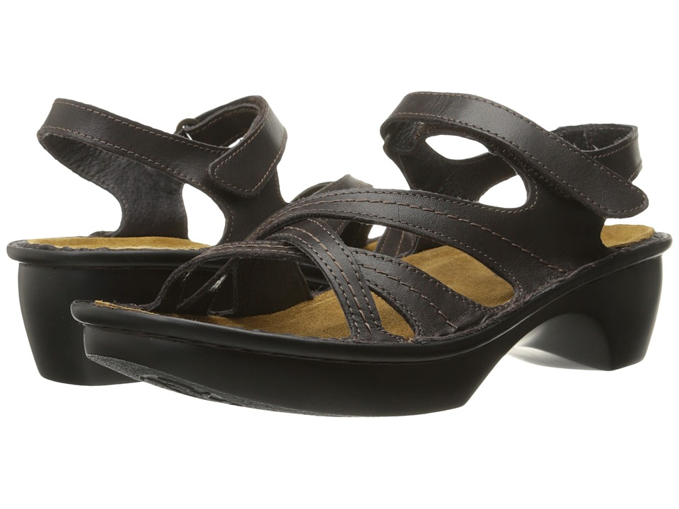 Naot Footwear - Paris (French Roast Leather) Women's Sandals