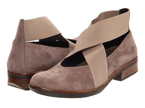 Naot Footwear - Lan (Shiitake Nubuck) Women's Slip-on Dress Shoes