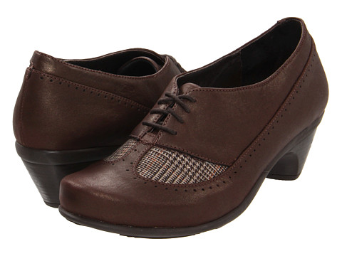 Naot Footwear - Retro (Brown Shimmer Nubuck/Auburn Tweed) High Heels