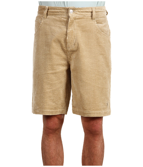 Toes on the Nose - Pineapples Walkshort (Khaki) Men's Shorts