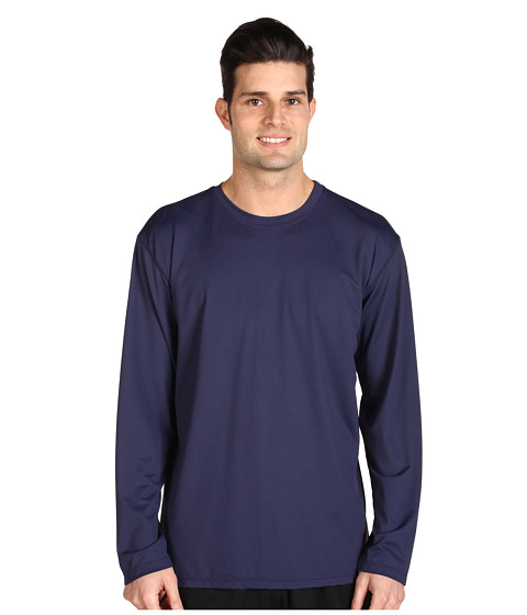 Toes on the Nose - L/S Element Guard (Navy) Men's Long Sleeve Pullover