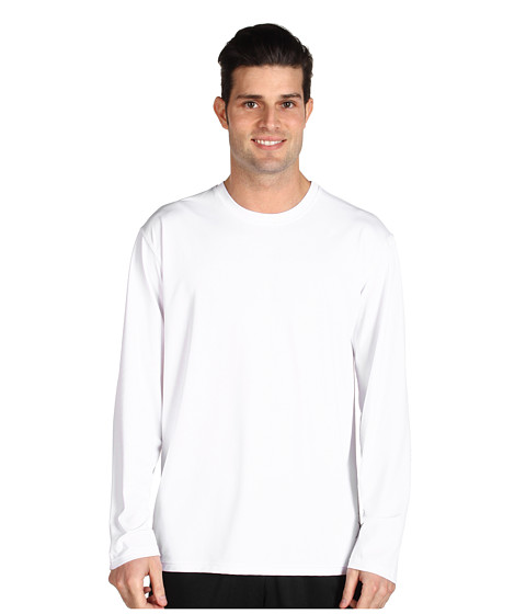 Toes on the Nose - L/S Element Guard (White) Men's Long Sleeve Pullover