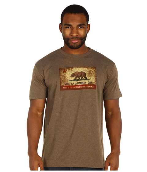 Toes on the Nose - One California Day Hometown T-Shirt (Brown) Men's T Shirt