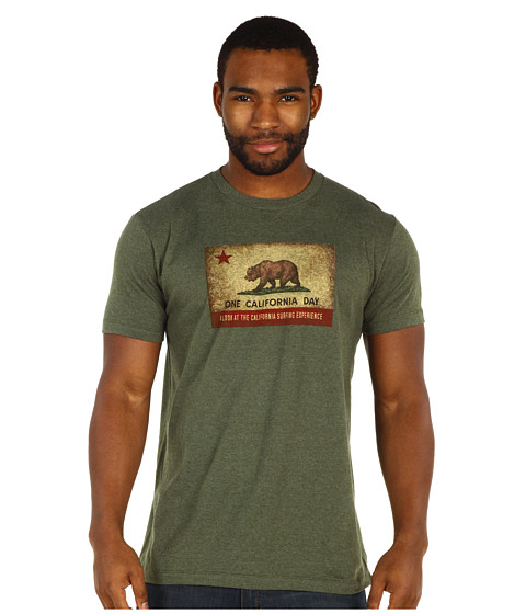 Toes on the Nose - One California Day Hometown T-Shirt (Green) Men's T Shirt