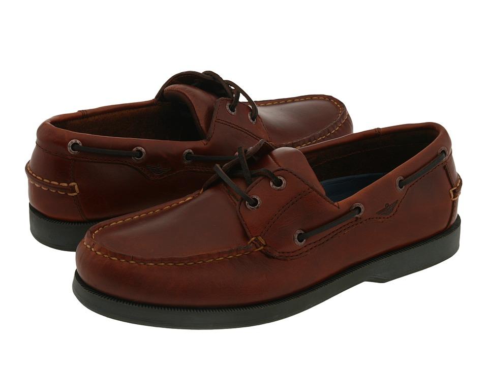 Dockers - Castaway Boat Shoe (Raisin) Men's Slip on  Shoes