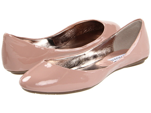 Steve Madden - P-Heaven (Pink Patent 1) Women's Flat Shoes