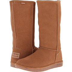 SKECHERS Shelby`s Tall Pull (Chestnut) Footwear