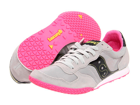 Saucony Originals - Bullet (Grey/Black) Women's Classic Shoes
