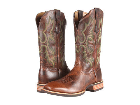 Ariat - Tombstone (Weathered Chestnut) Cowboy Boots