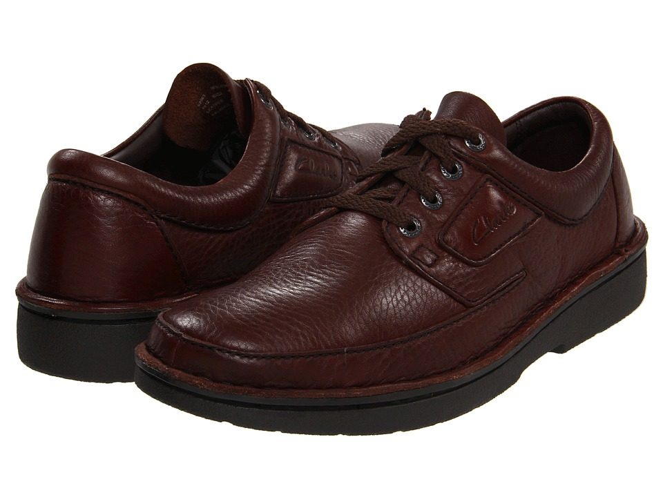 Clarks Natureveldt (Brown Leather) Men