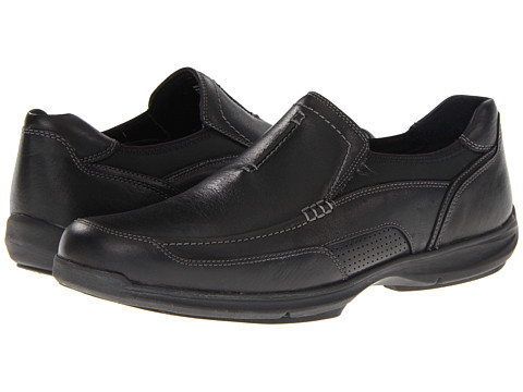 Clarks - Wave.Vortex (Black Leather) Men