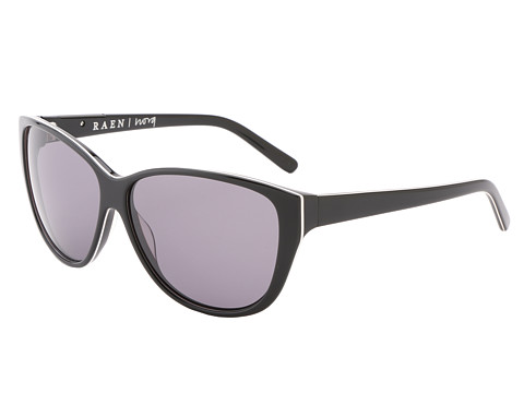 RAEN Optics - Nora '12 (Black w/ White Pin Stripe) Sport Sunglasses