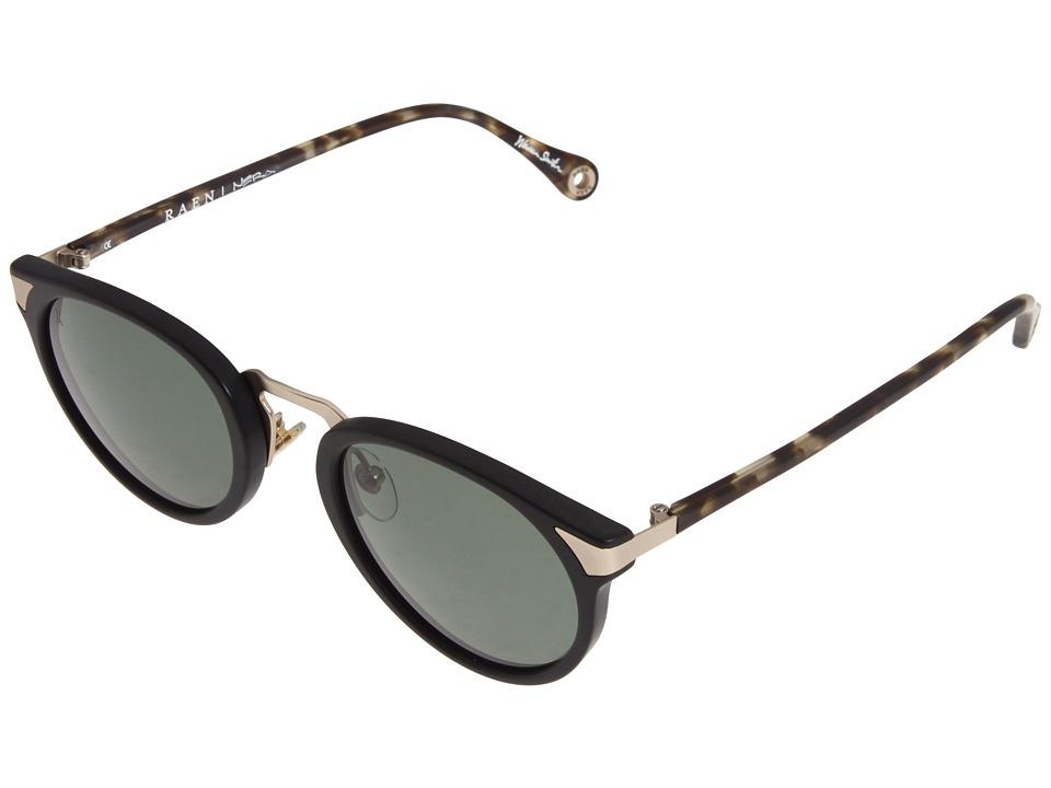 RAEN Optics - Nera Polarized '12 (Matte Black - Matte Brindle - Japanese Gold) Polarized Sport Sunglasses