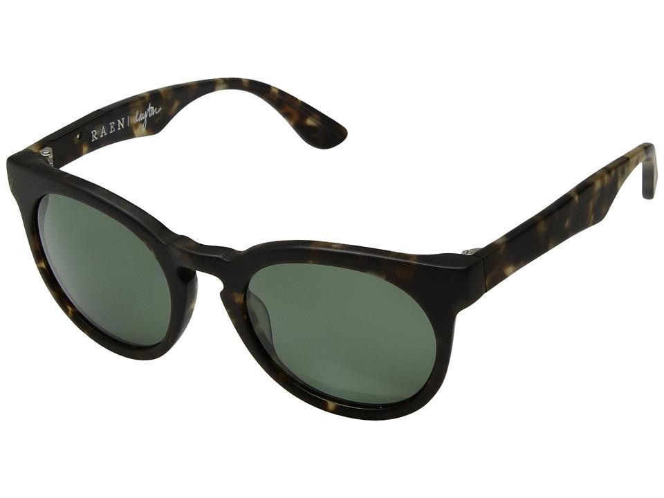 RAEN Optics - Dayton Polarized '12 (Matte Brindle) Polarized Sport Sunglasses
