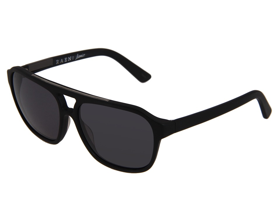 RAEN Optics - Lomis Polarized '12 (Matte Black) Polarized Sport Sunglasses