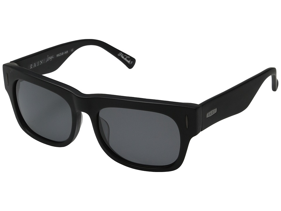 RAEN Optics - Lenox Polarized '12 (Matte Black) Polarized Sport Sunglasses