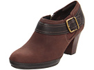 Clarks - Vermont Vivi (Brown Nubuck) - Clarks Shoes
