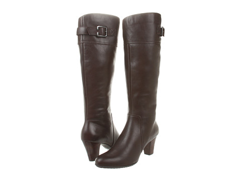 Clarks - Study Hall (Dark Brown Leather) Women