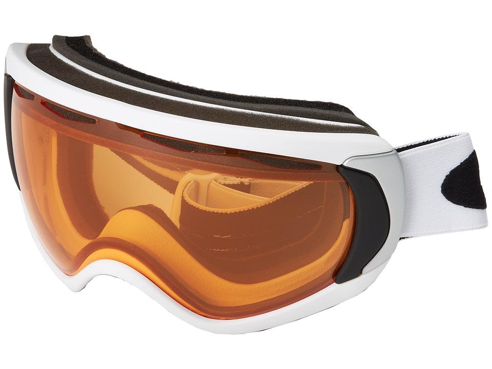 Oakley - Canopy '12 (Canopy Matte White w/Persimmon) Snow Goggles