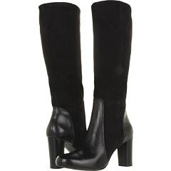 Indigo by Clarks Loyal Pearl (Black Leather Suede) Footwear