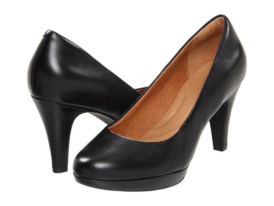 Clarks - Wessex Wyvern (Black Leather) High Heels