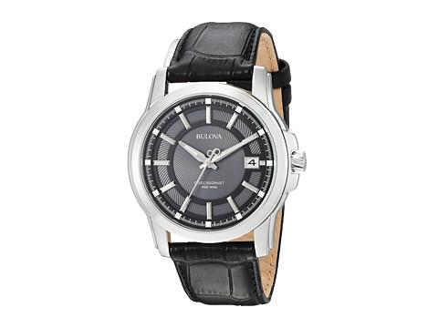 Bulova Mens Precisionist - 96B158 (Black/Black) Watches