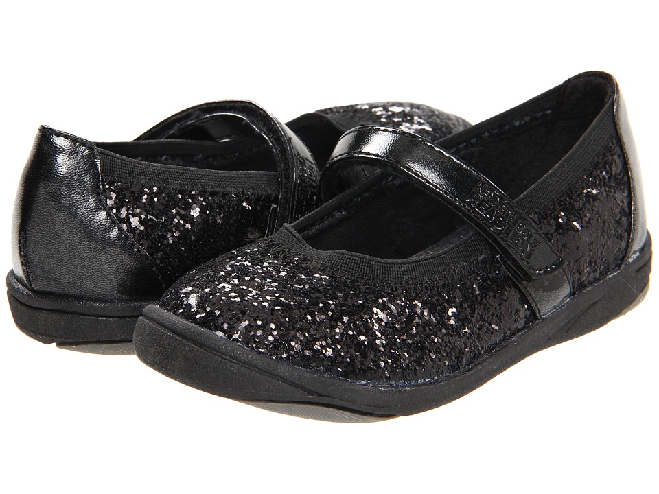 Kenneth Cole Reaction Kids Prize On By 2 Girls Shoes (Black)