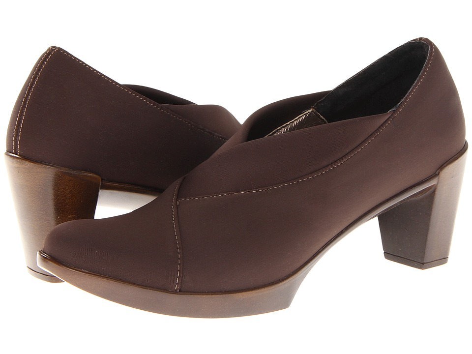 Naot Footwear Lucente (Brown Stretch) High Heels