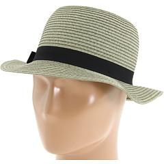 SALE! $18.99 - Save $21 on Brixton Louella (Dark Grey Straw) Hats - 52.53% OFF $40.00