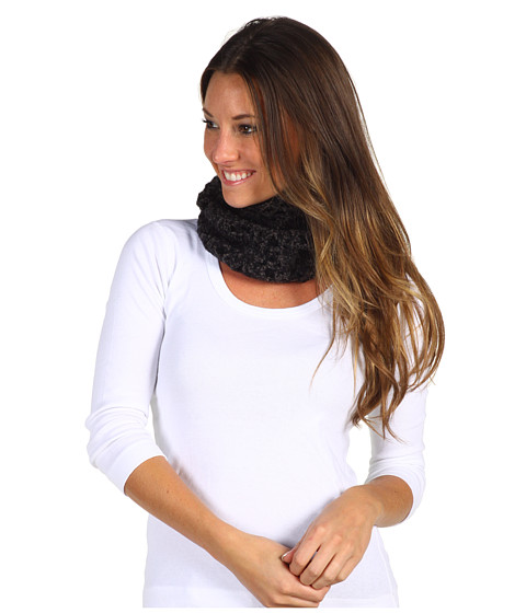 Pistil - Violet Neck Warmer (Charcoal) Scarves