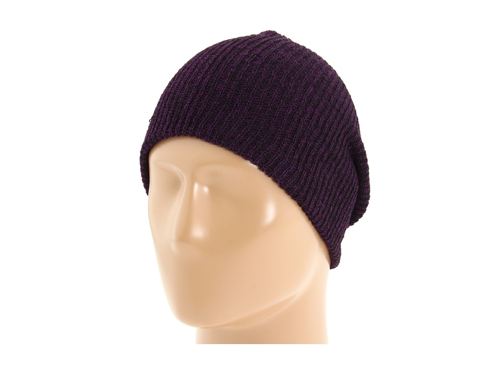 Neff - Daily Heather Beanie (Black/Purple) Beanies