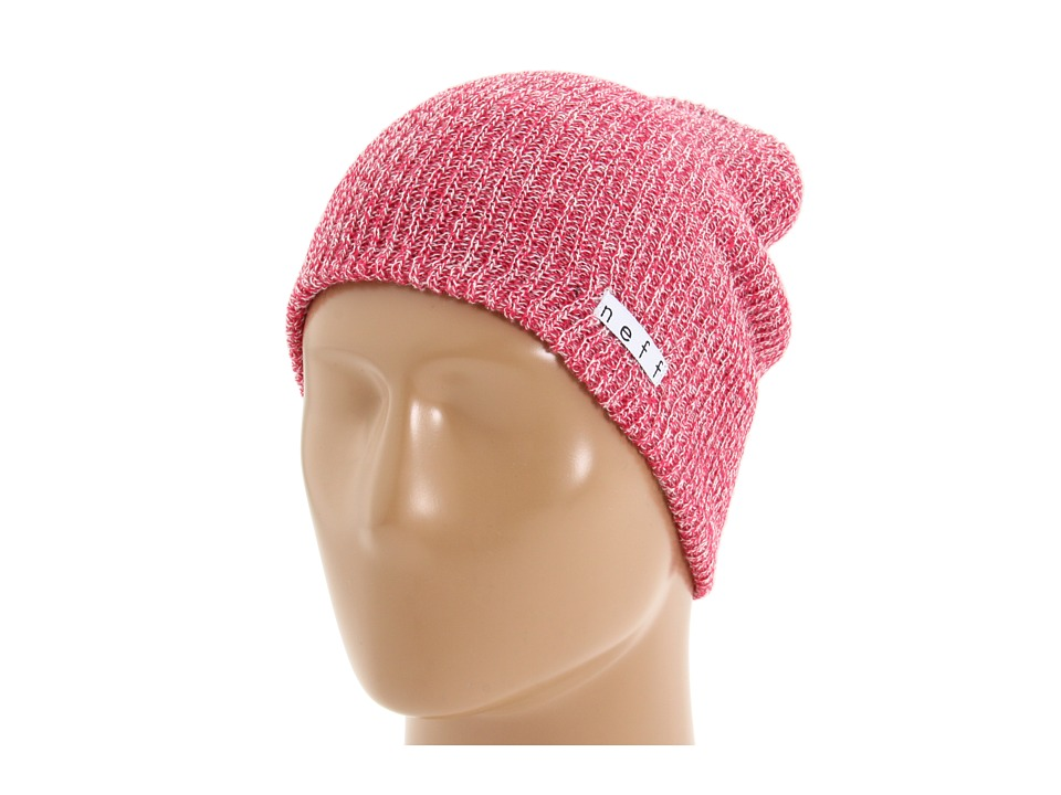 Neff - Daily Heather Beanie (Pink/White) Beanies