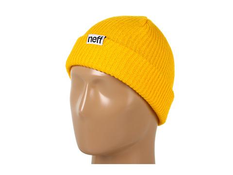 Neff - Fold Beanie (Mustard) Beanies