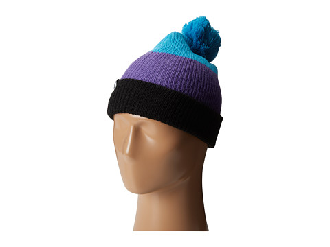 Neff - Snappy Beanie (Black/Purple/Cyan) Beanies