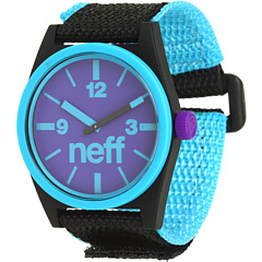SALE! $18.99 - Save $16 on Neff Daily Velcro Watch (Cyan Black) Jewelry - 45.74% OFF $35.00