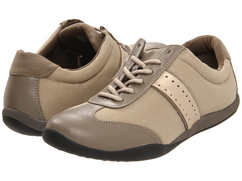 VIONIC with Orthaheel Technology - Kate Walker (Taupe) Women's Lace up casual Shoes